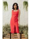 AUBREY DRESS - RED