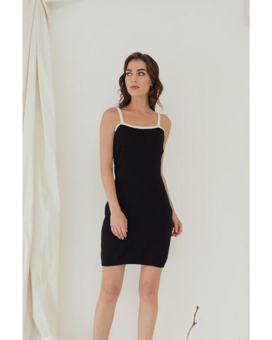 GENESIS DRESS - BLACK