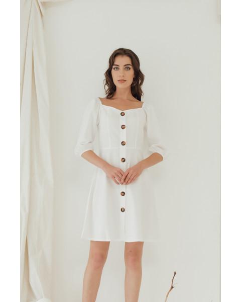 SONYA DRESS - WHITE