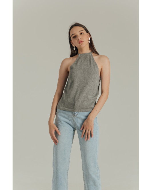 CASSIE TOP - GREY