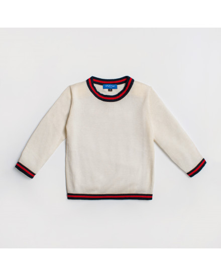 HANNA TOP KIDS - WHITE