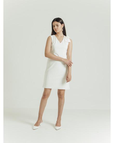IVORY DRESS - WHITE