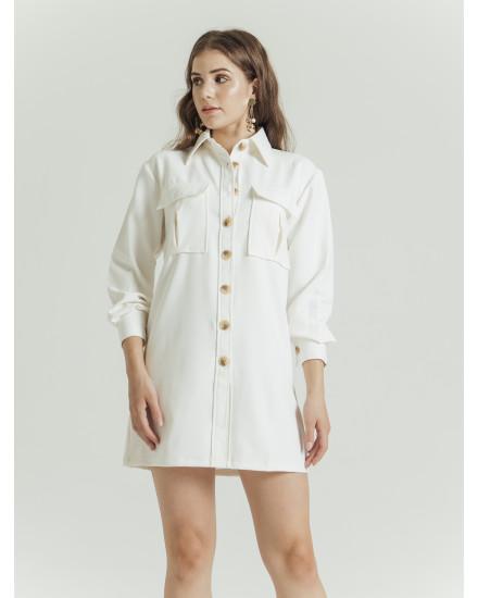 CONCETTA DRESS - WHITE