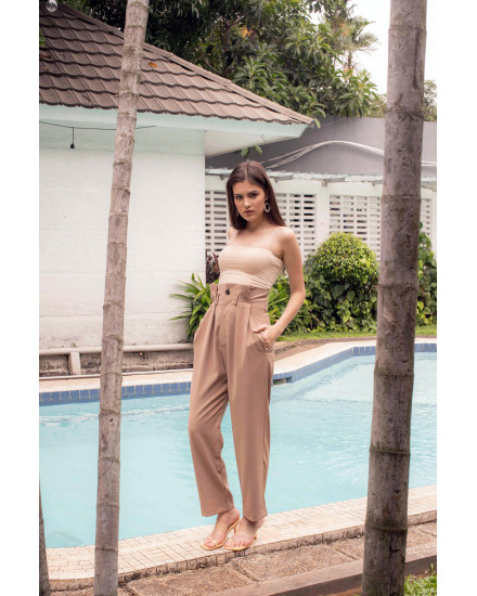 LITHA PANTS - NUDE