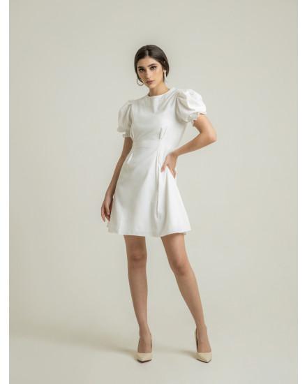 POSIE DRESS - WHITE