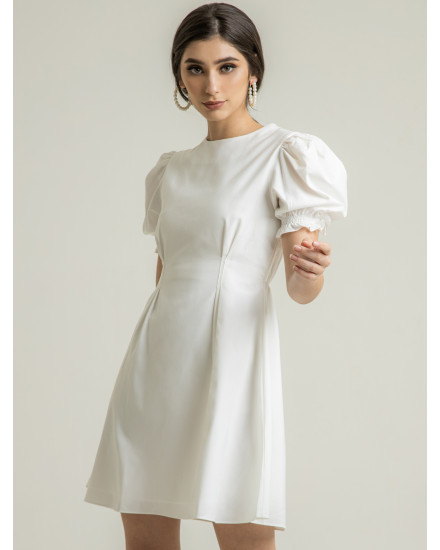 POSIE DRESS - WHITE