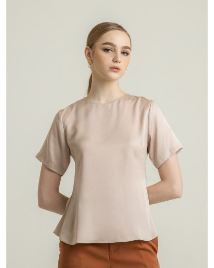 TANCEL TOP - NUDE
