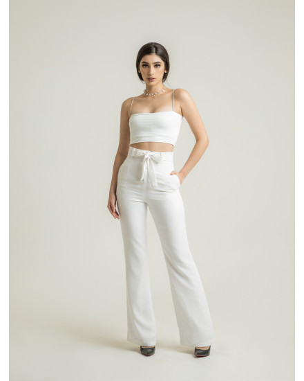 HARLEY CUTBRAY PANTS - WHITE