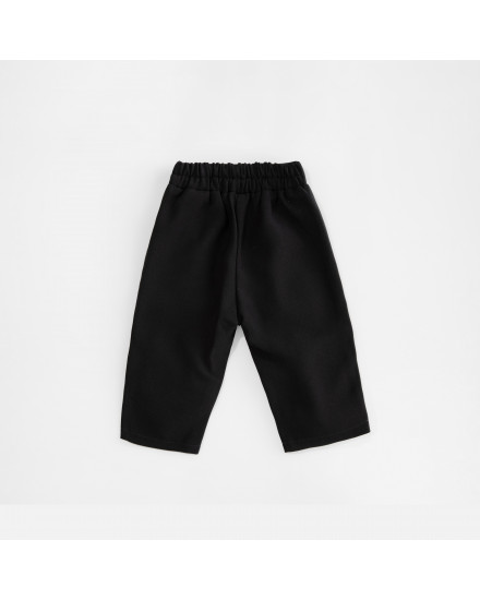 SCARLETT HW PANTS KIDS - BLACK