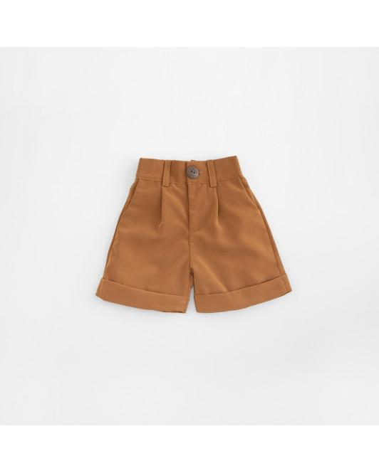 DARLENE HW PANTS KIDS - CAMEL