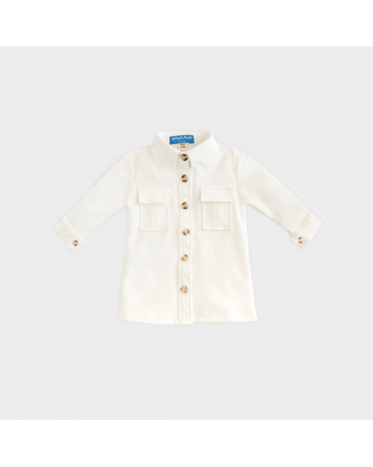 CONCETTA DRESS KIDS - WHITE