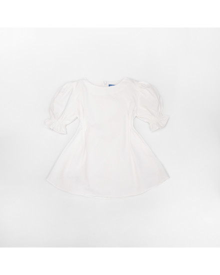 POSIE DRESS KIDS - WHITE