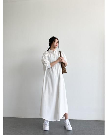 CONNOR DRESS - WHITE
