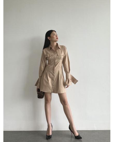 ALBA DRESS - CREAM